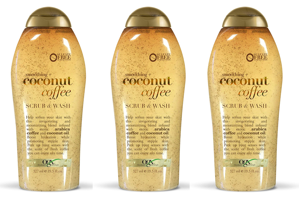 Ogx Coconut Coffee Body Scrub