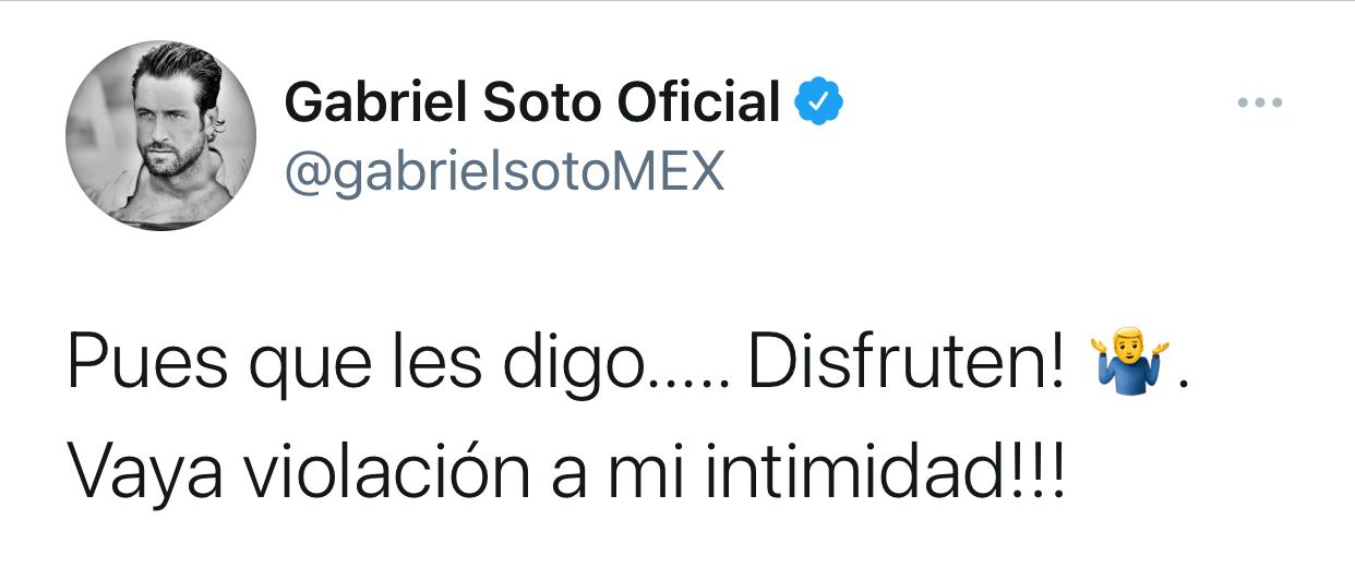 Gabriel Soto Twitter