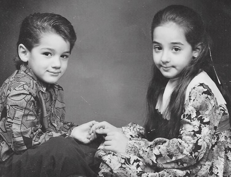 Toni Costa y su hermana Lorena