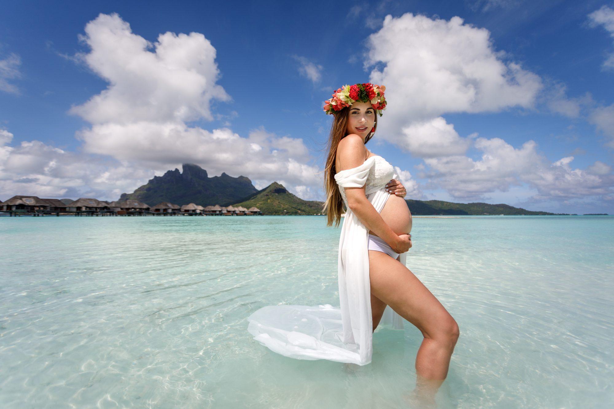 Alexa Olavarria Bora Bora