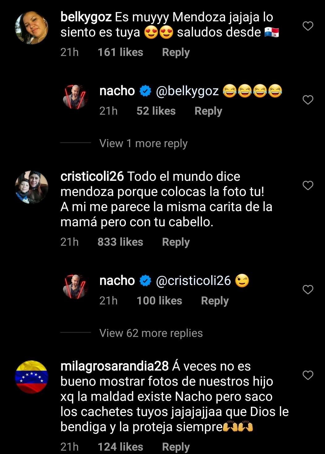 Comentarios a Nacho Mendoza