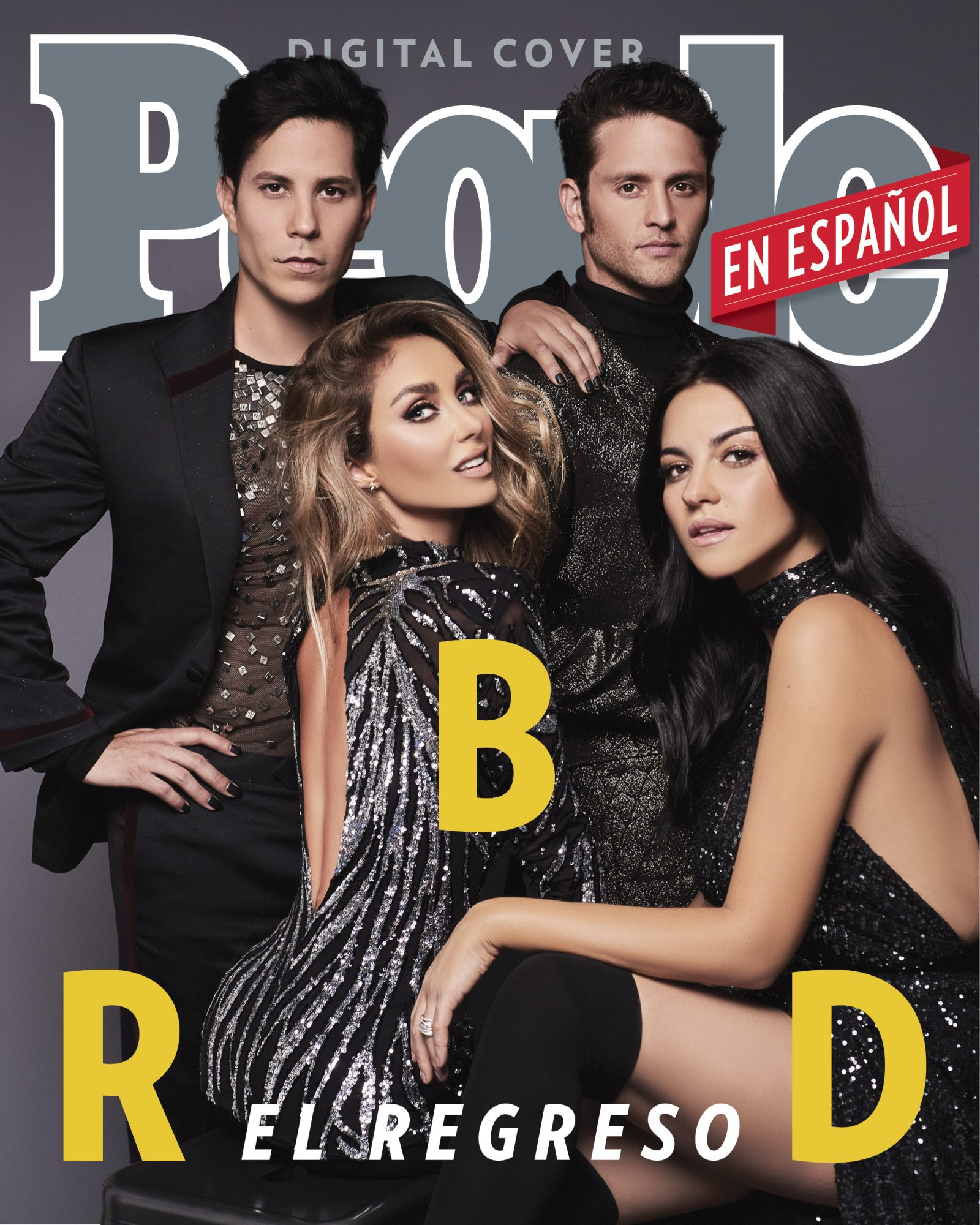 RBD - Anahi, Christian Chavez, Christopher von Uckermann, Maite Perroni - DIGITAL COVER - DO NOT REUSE