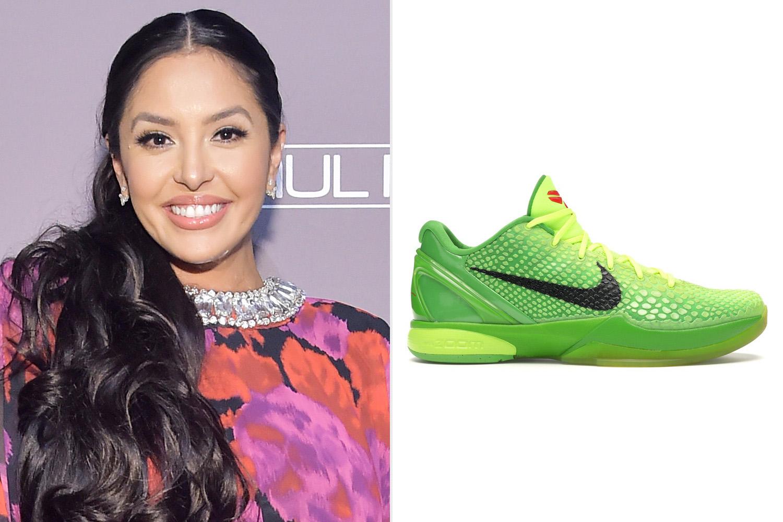 Vanessa Bryant; Nike Kobe 'Grinch' Sneakers