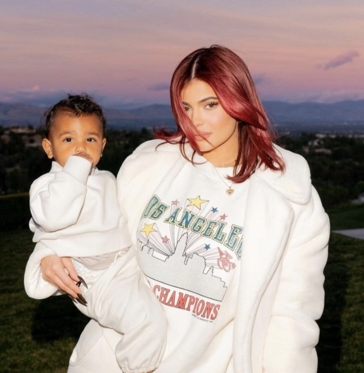 Kylie Jenner y su hija