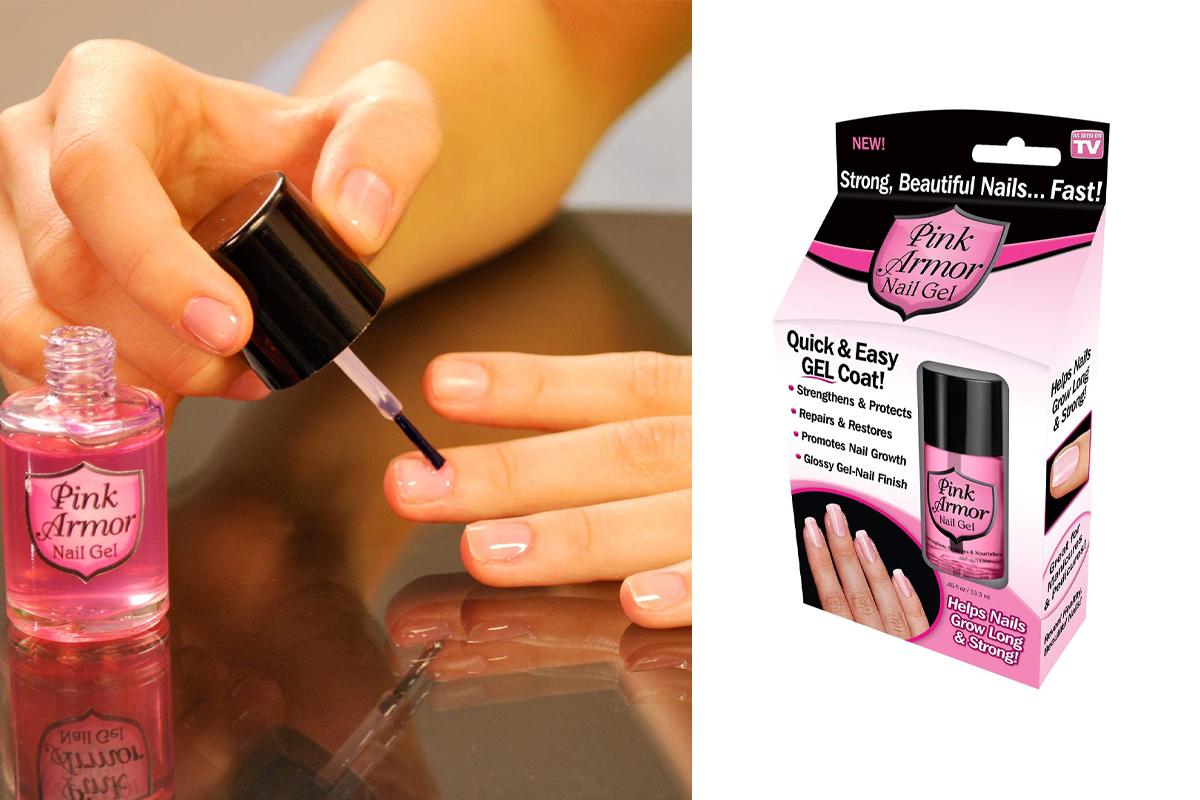 Pink Armor Nail Growth Formula Treatments
