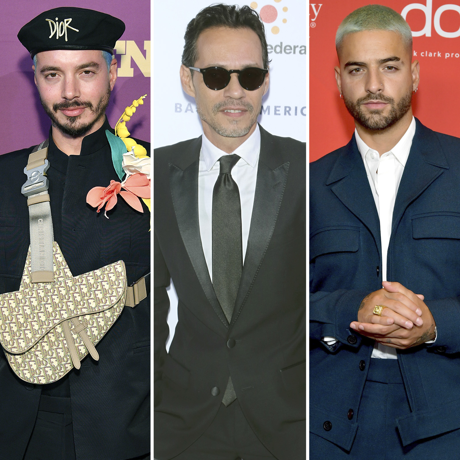 J Balvin, Marc Anthony, Maluma