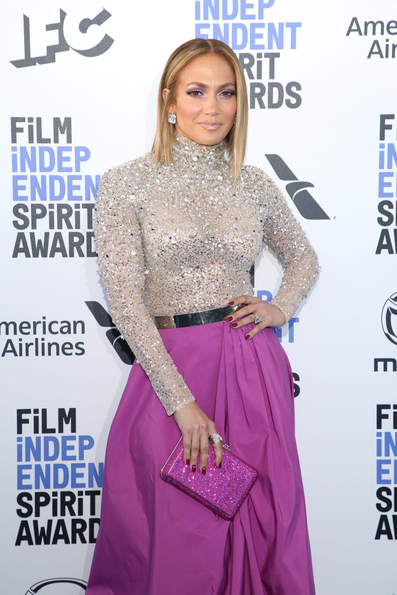 Jennifer Lopez, Film Independent Critics Awards, look, alfombra