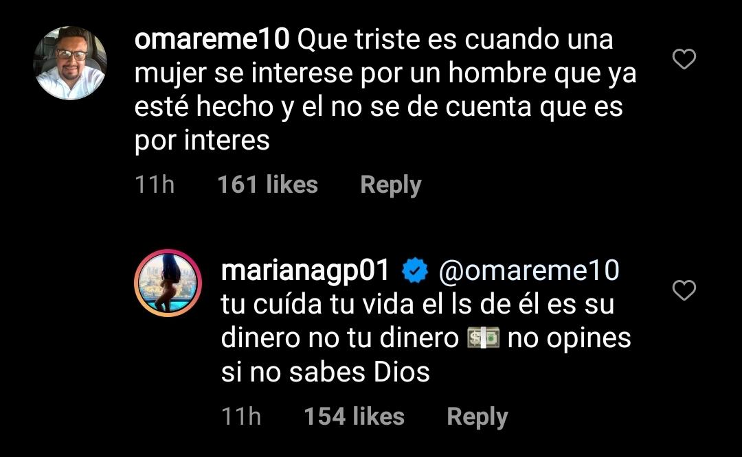 Comentario a Mariana González Padilla