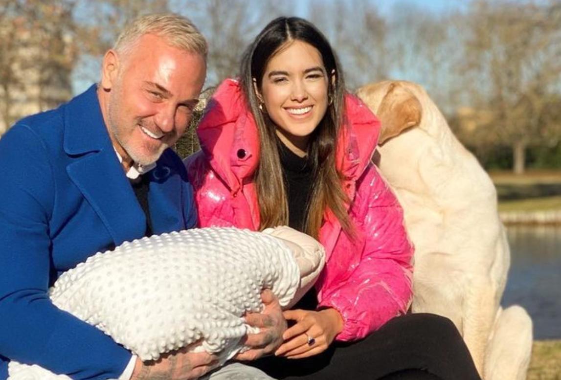 Gianluca Vacchi Sharon Fonseca Blue