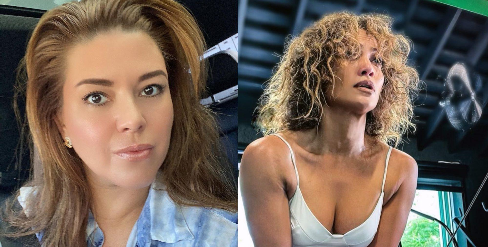 Alicia Machado Jennifer Lopez