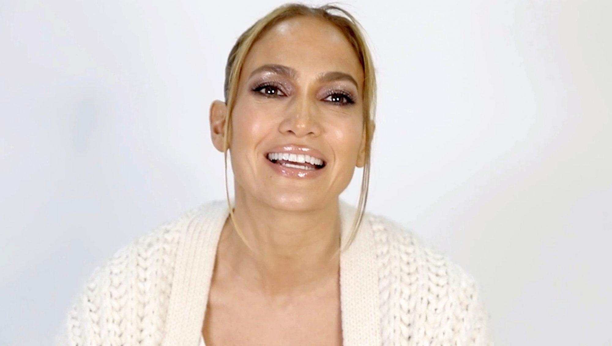 Jennifer Lopez Shares Her Nighttime Beauty Routine