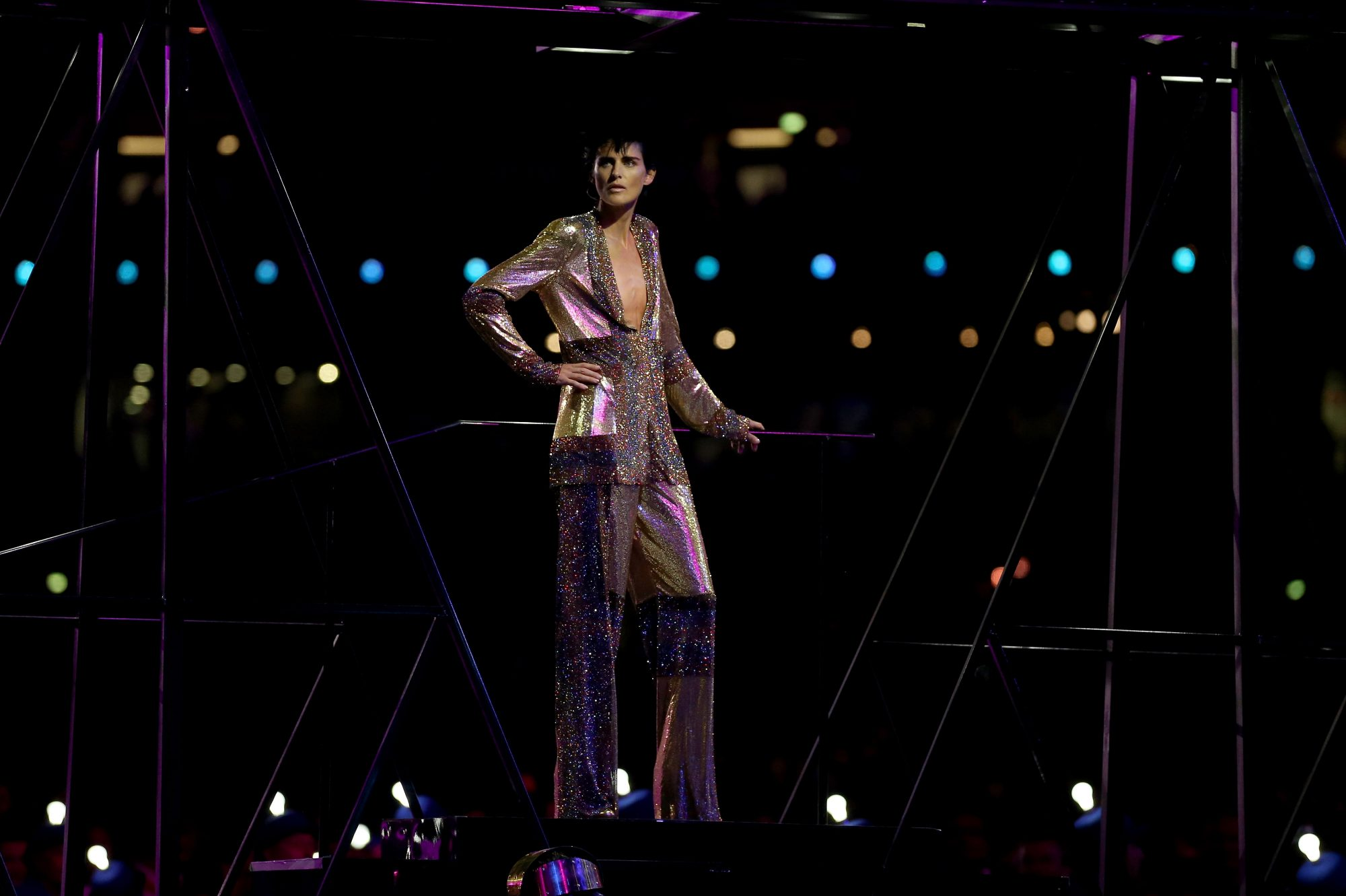 Stella Tennant - 2012 Olympic Games - Closing Ceremony