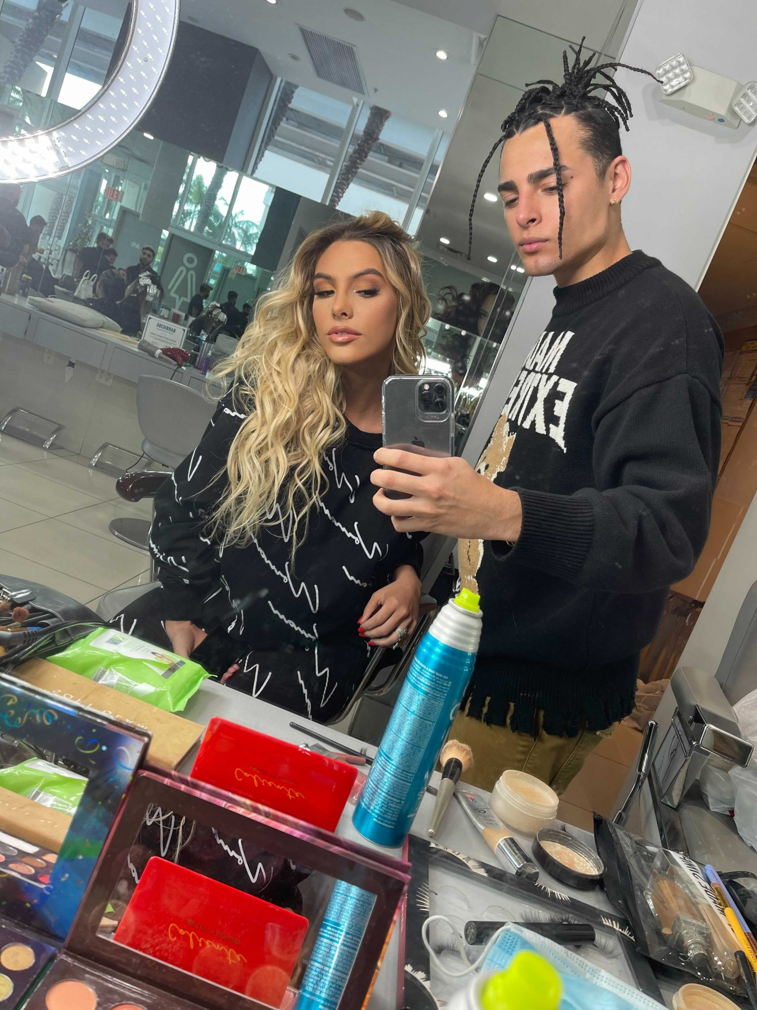 Lele Pons - Digital Cover - Hair and Makeup looks