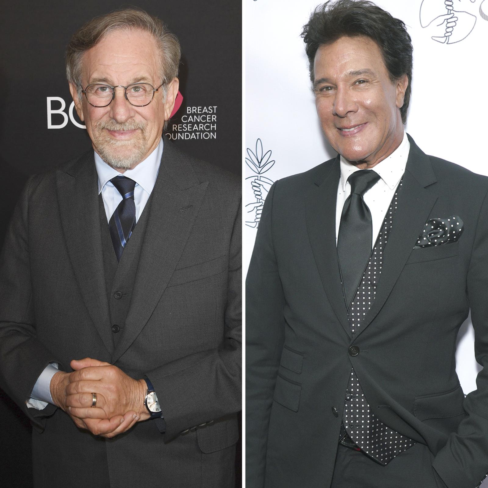 Steven Spielberg y Fernando Allende