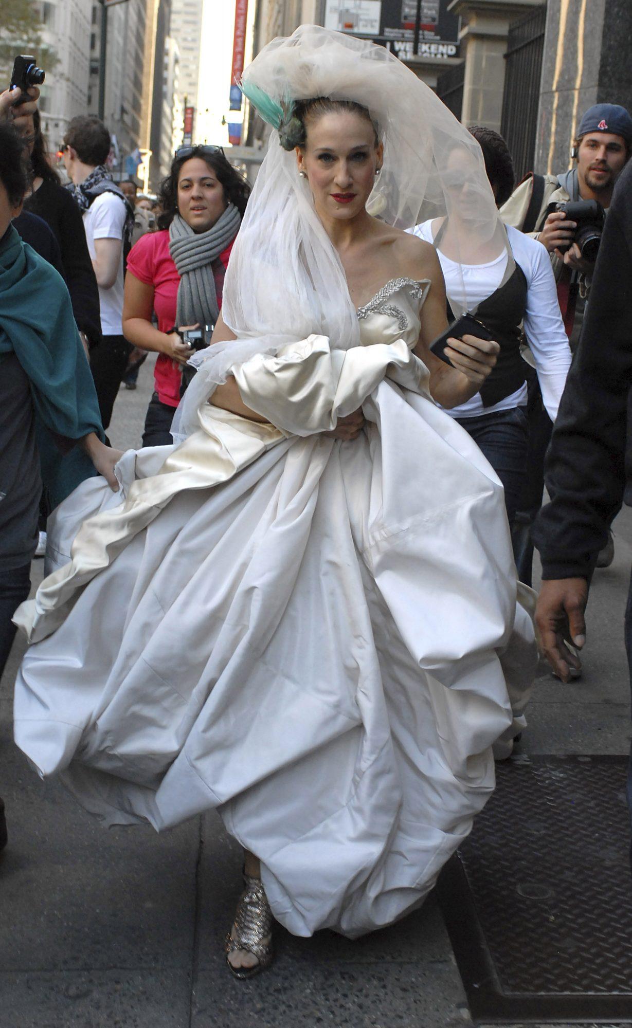 Sarah jessica Parker Carrie Bradshaw boda