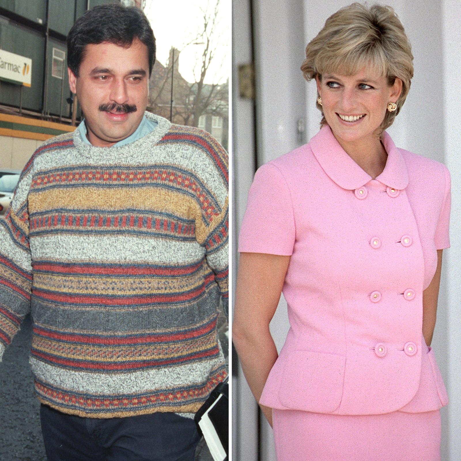 Hasnat Khan y Princess Diana