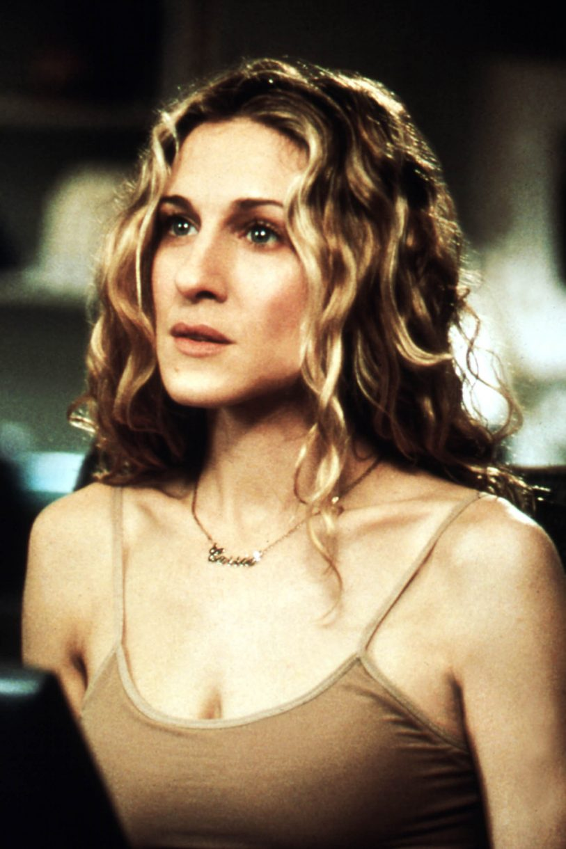Carrie Bradshaw collar Sex and the city