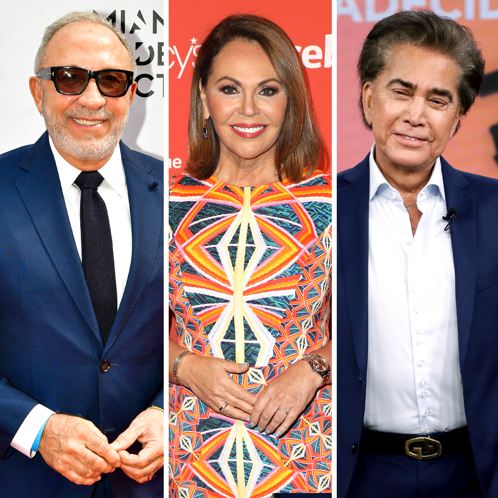 Emilio Stefan, Maria Elena Salinas, Jose Luis Rodriguez -el puma-