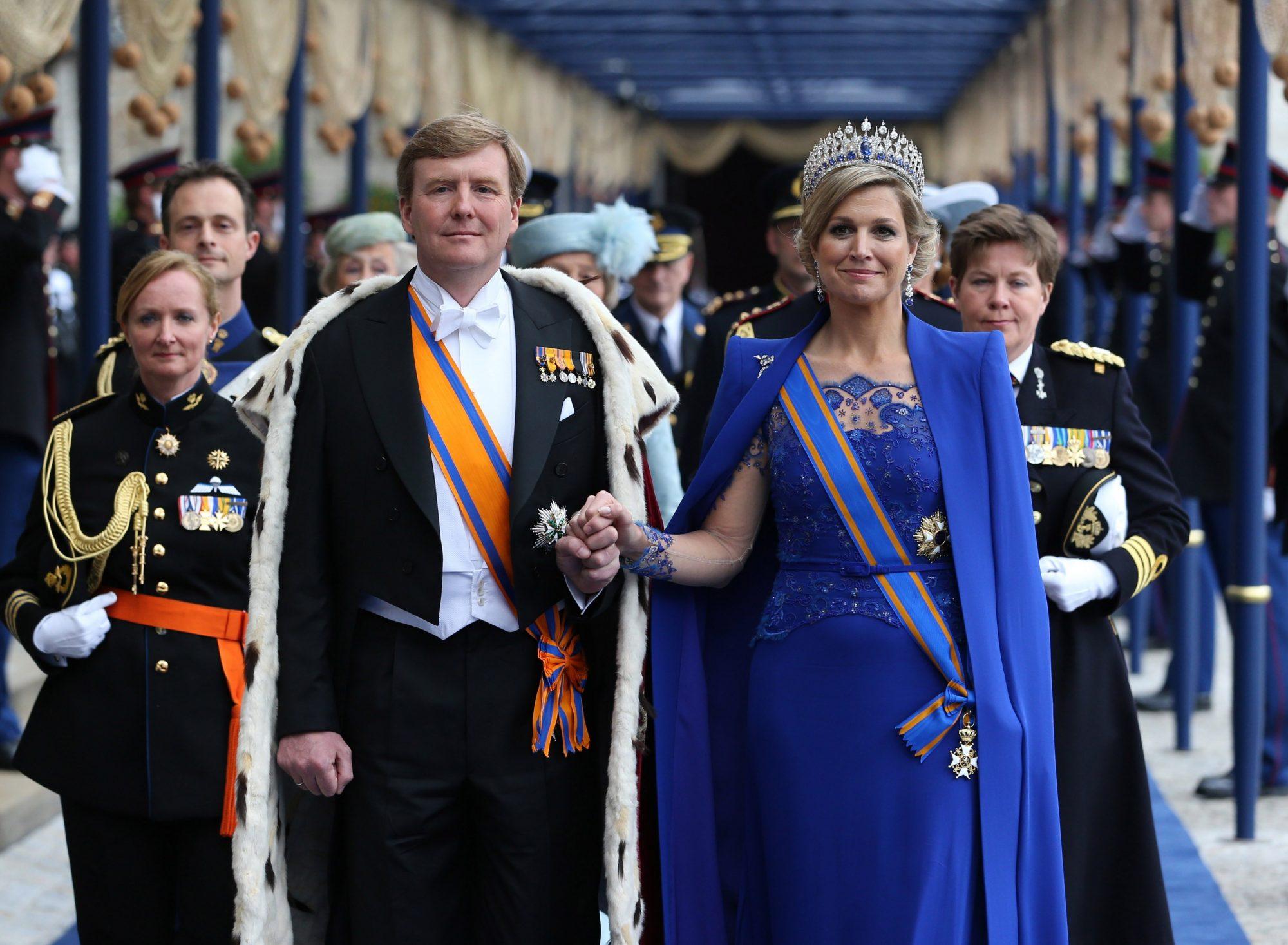 Re Willem-Alexander y reina Maxima de Holanda