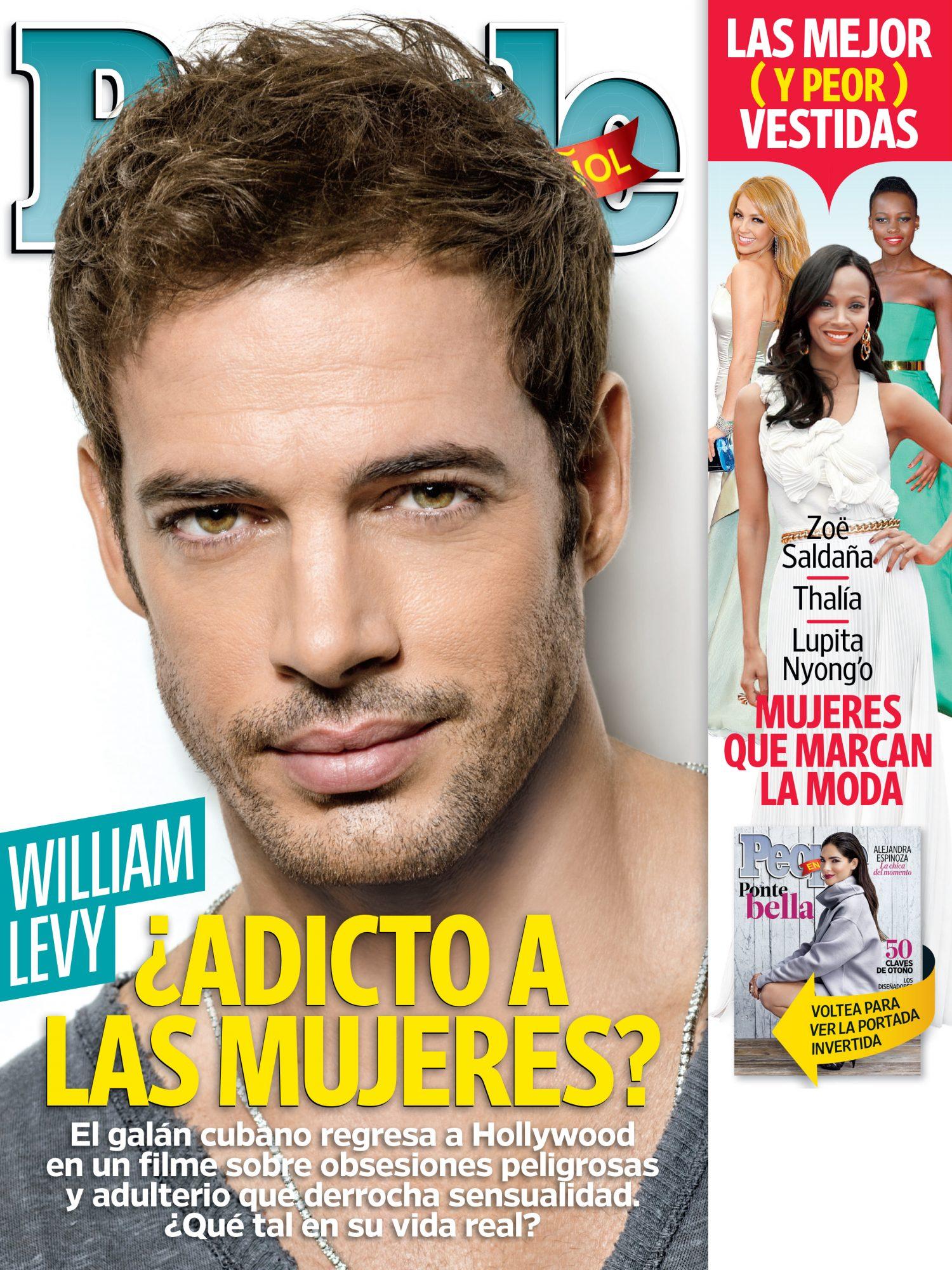 Septiembre 2014 portada – Las 25 Mujeres Mas Poderosas Cover William Levy