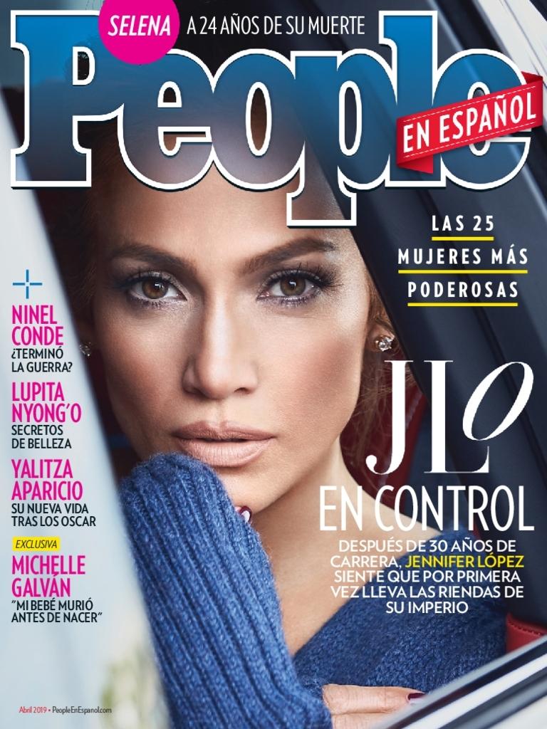 Abril 2019 portada - Las 25 Mujeres Mas Poderosas Cover Jennifer Lopez