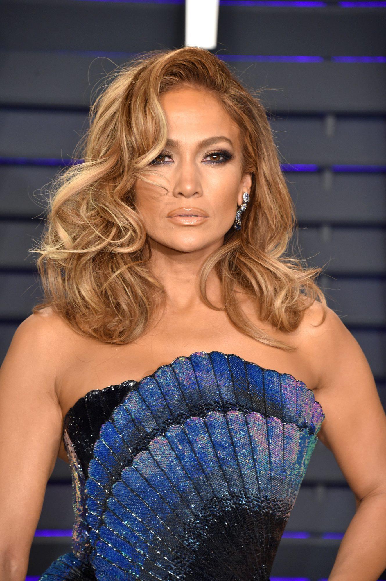 Jennifer Lopez 2019 Vanity Fair Oscar Party Hosted By Radhika Jones - Arrivals
