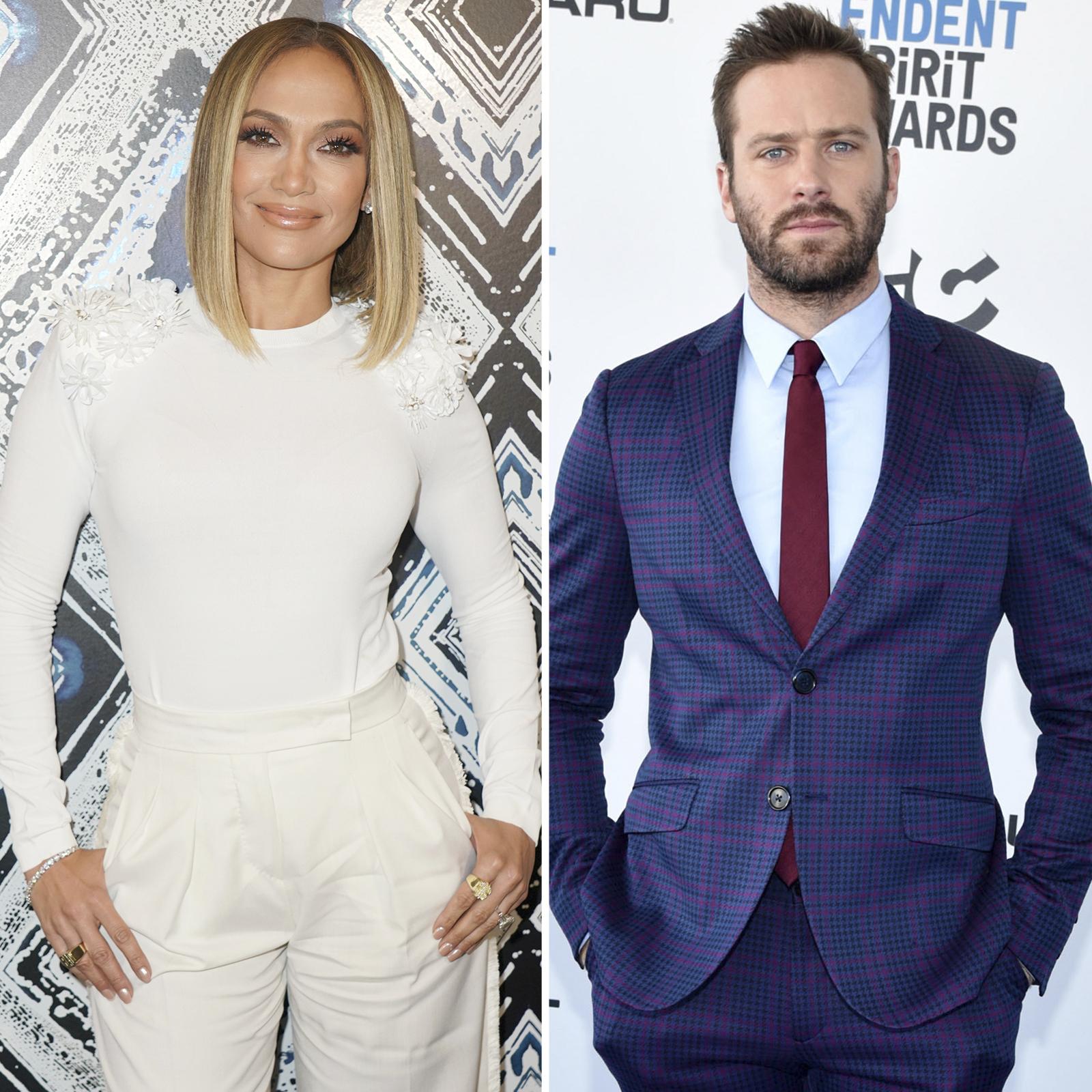 Jennifer Lopez y Armie Hammer