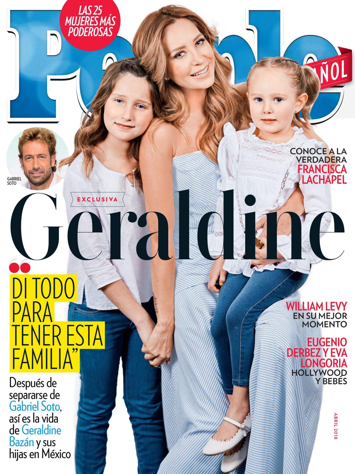 Abril 2018 portada - Las 25 Mujeres Mas Poderosas Cover - Geraldine Bazan