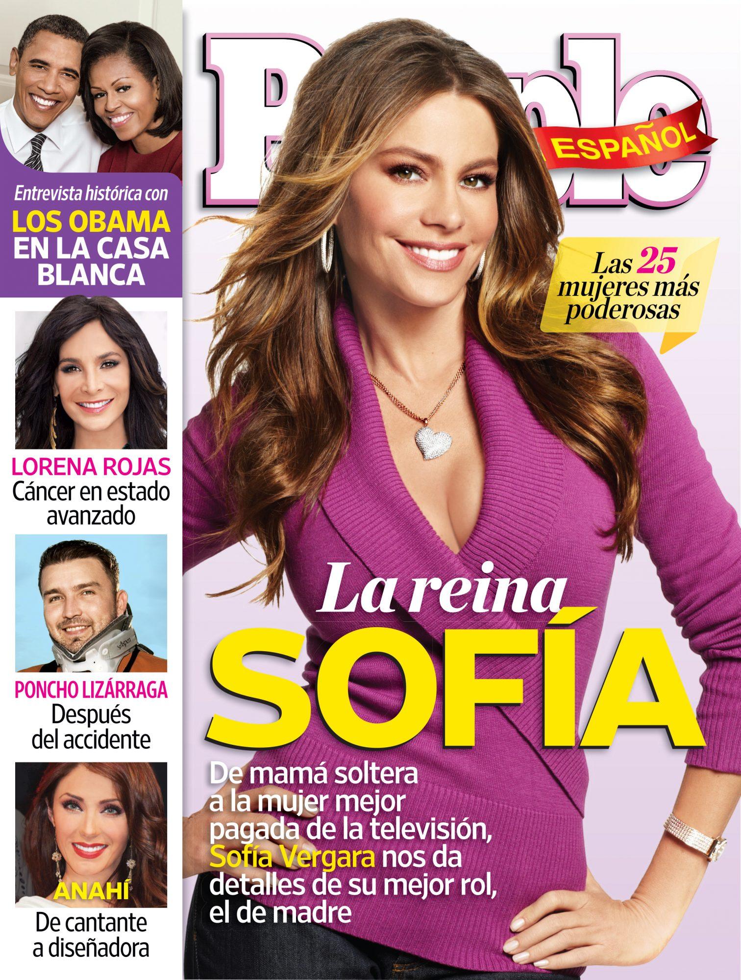 Noviembre 2012 portada – Las 25 Mujeres Mas Poderosas Cover Sofia Vergara