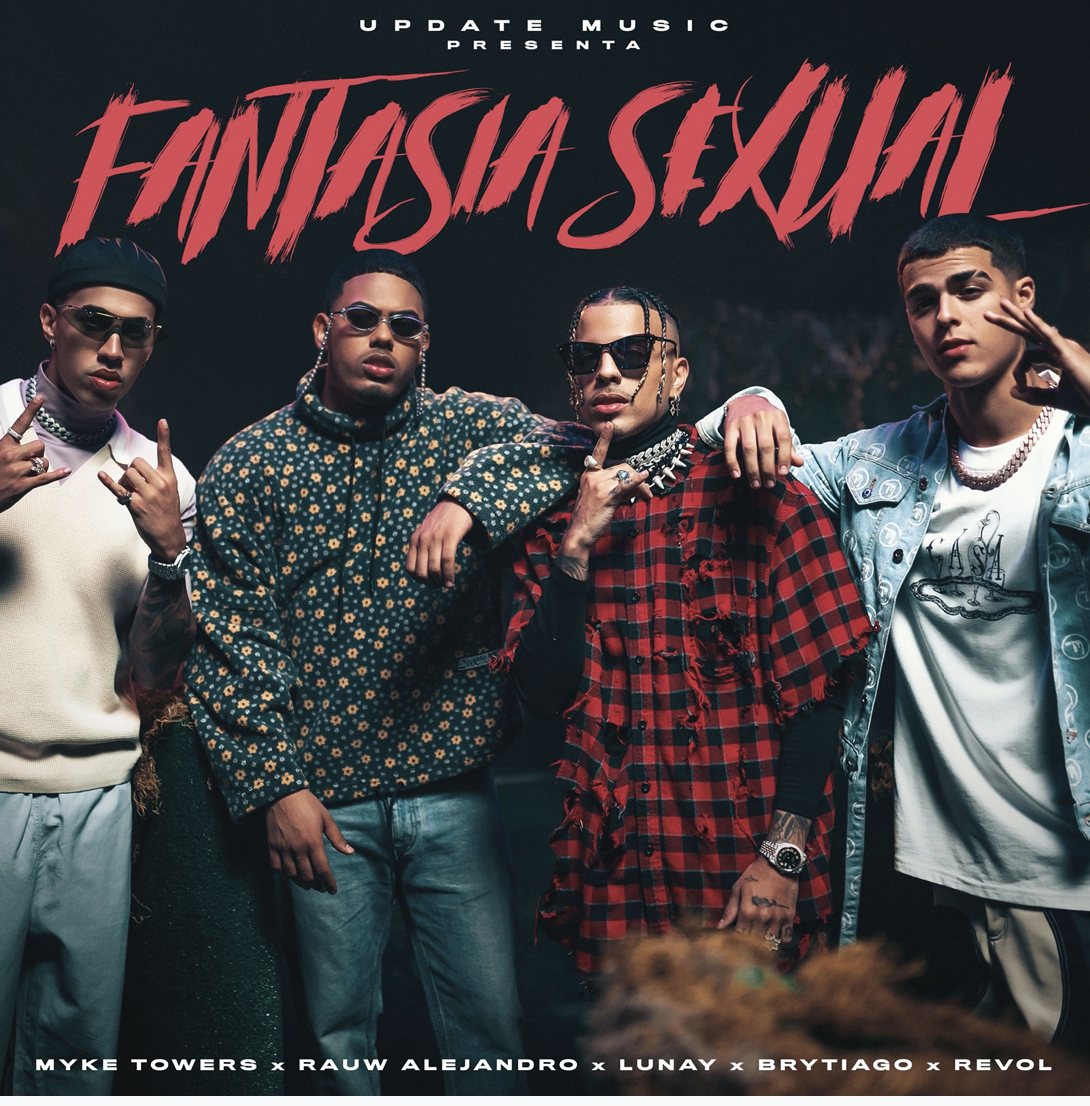 "Brytiago,Myke Towers, Rauw, Lunay ""Fantasia Sexual"""