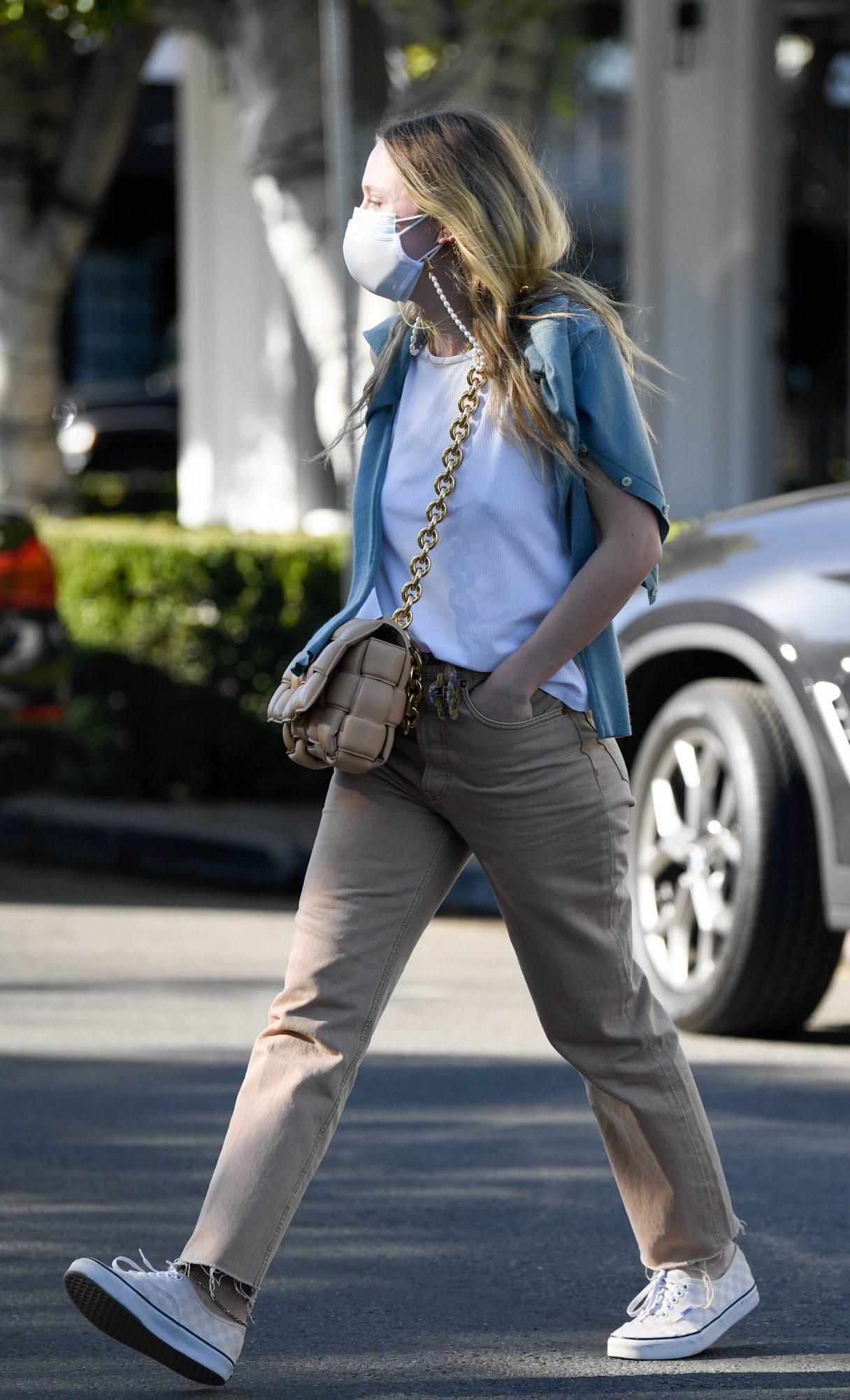 Dakota Fanning, streetstyle, look, los angeles