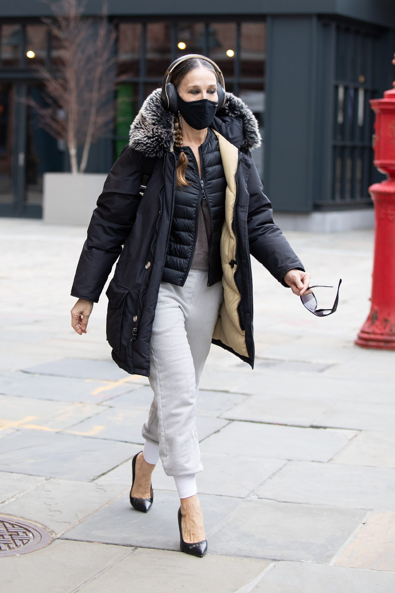 Sarah Jessica Parker, look, streetstyle, new york