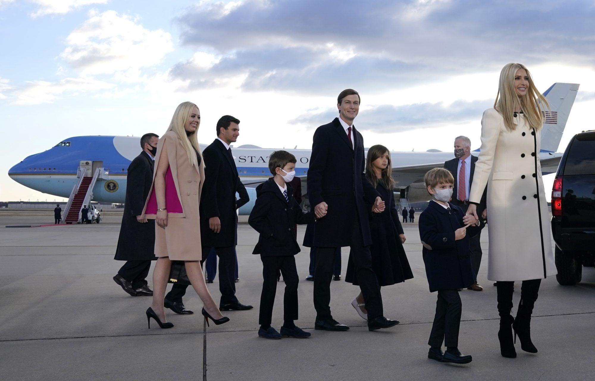 Ivanka Trump Jared Kushner y su familia