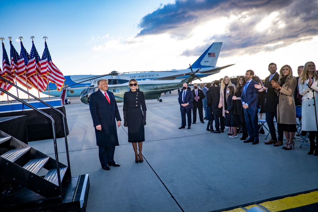 Donald Trump Melania familia
