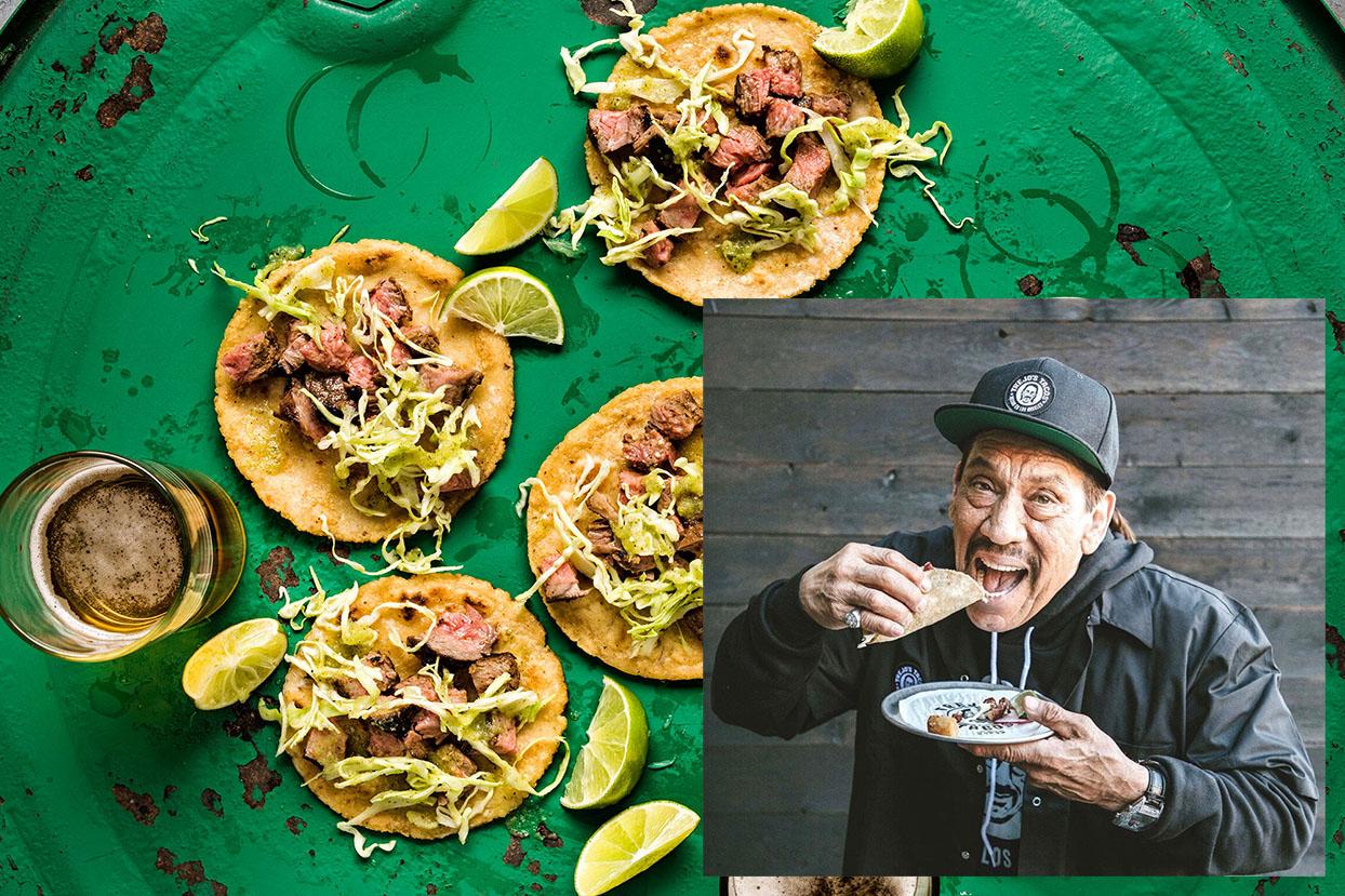 Danny Trejo y su exquisita receta de carne asada ¡tienes que probarla!