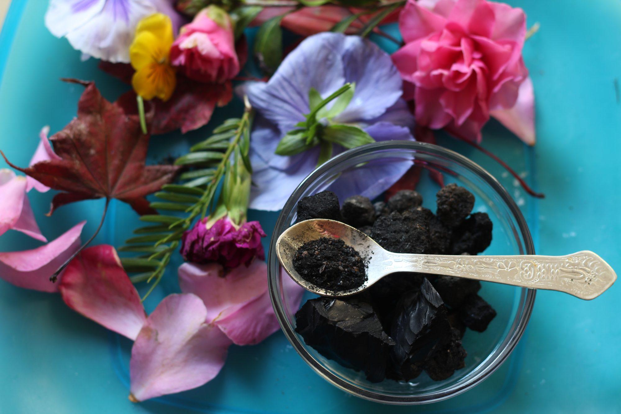 Carbón activado ingrediente belleza