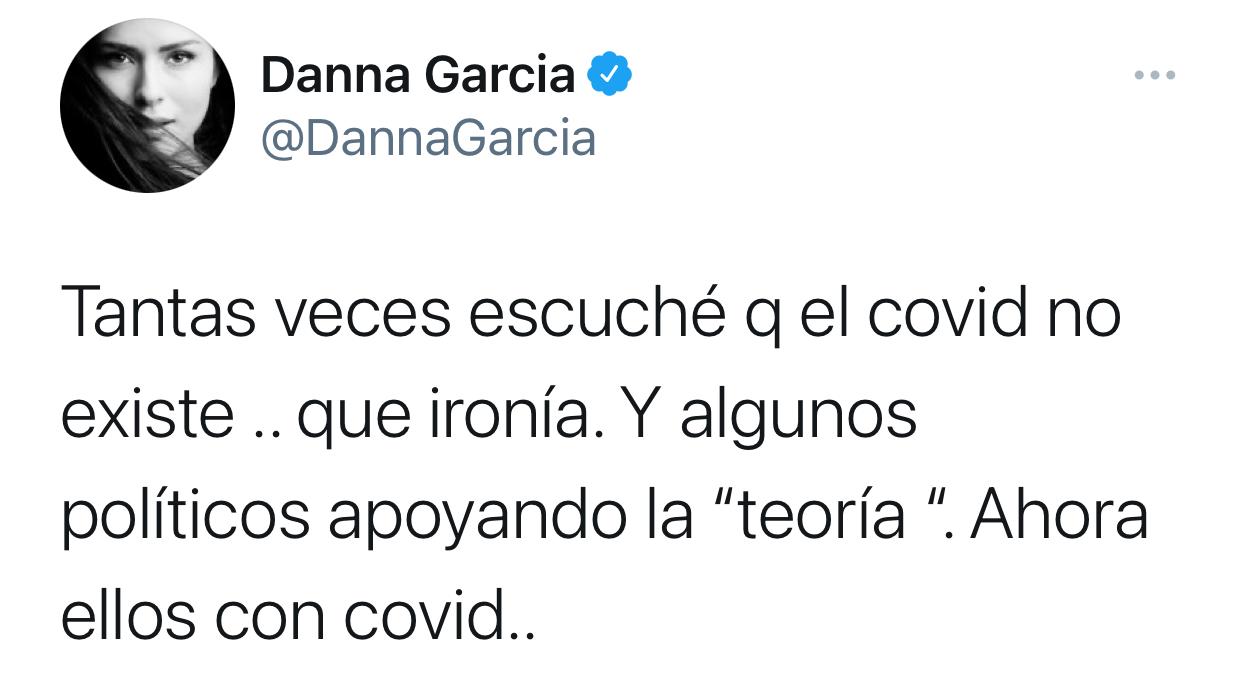 Danna Garcia Twitter