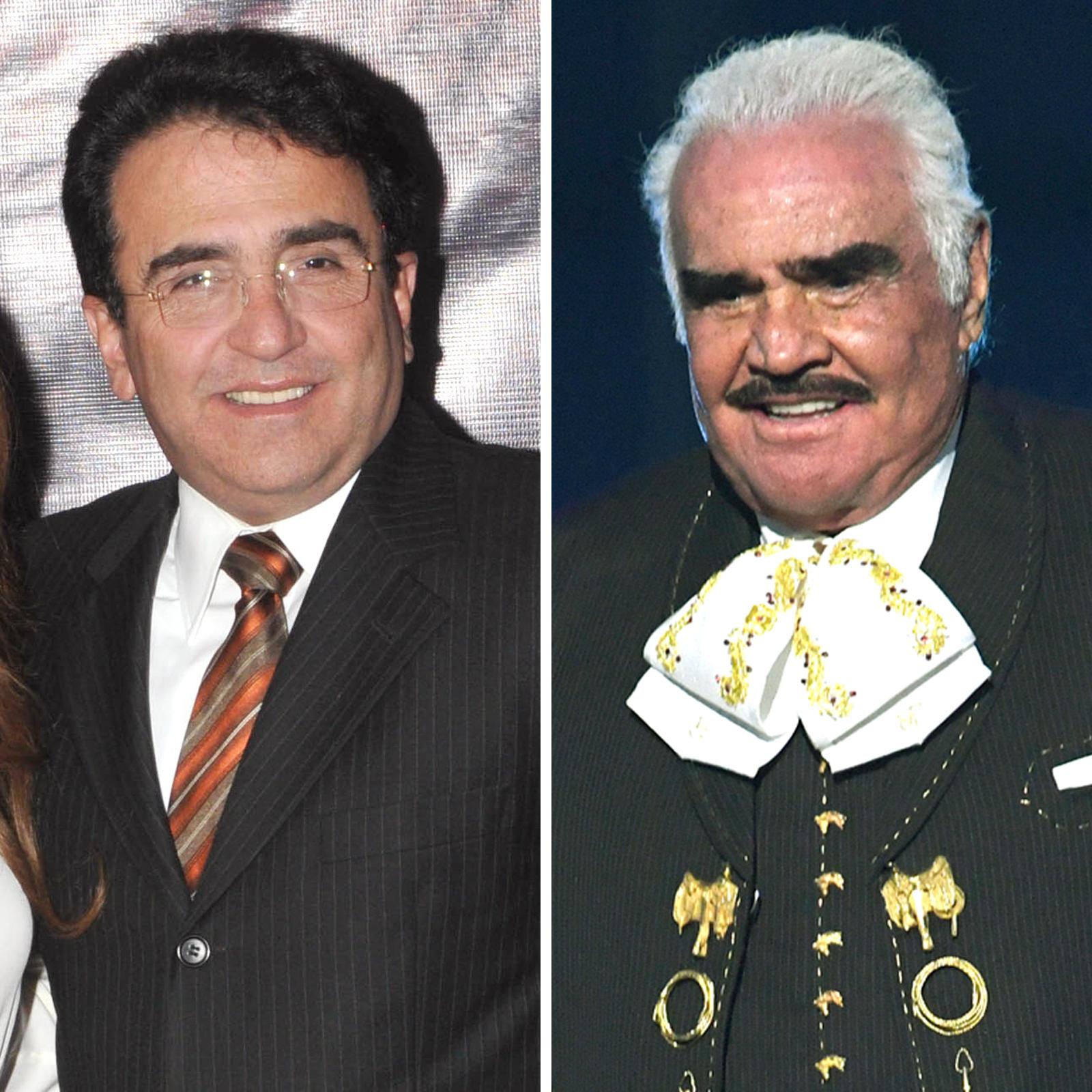 Vicente Fernández Jr. y Vicente Fernández