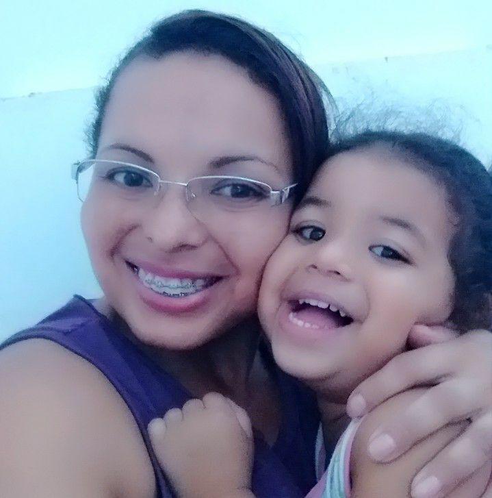 Josimare Gomes da Silva y su hija; brazil mato a su hija