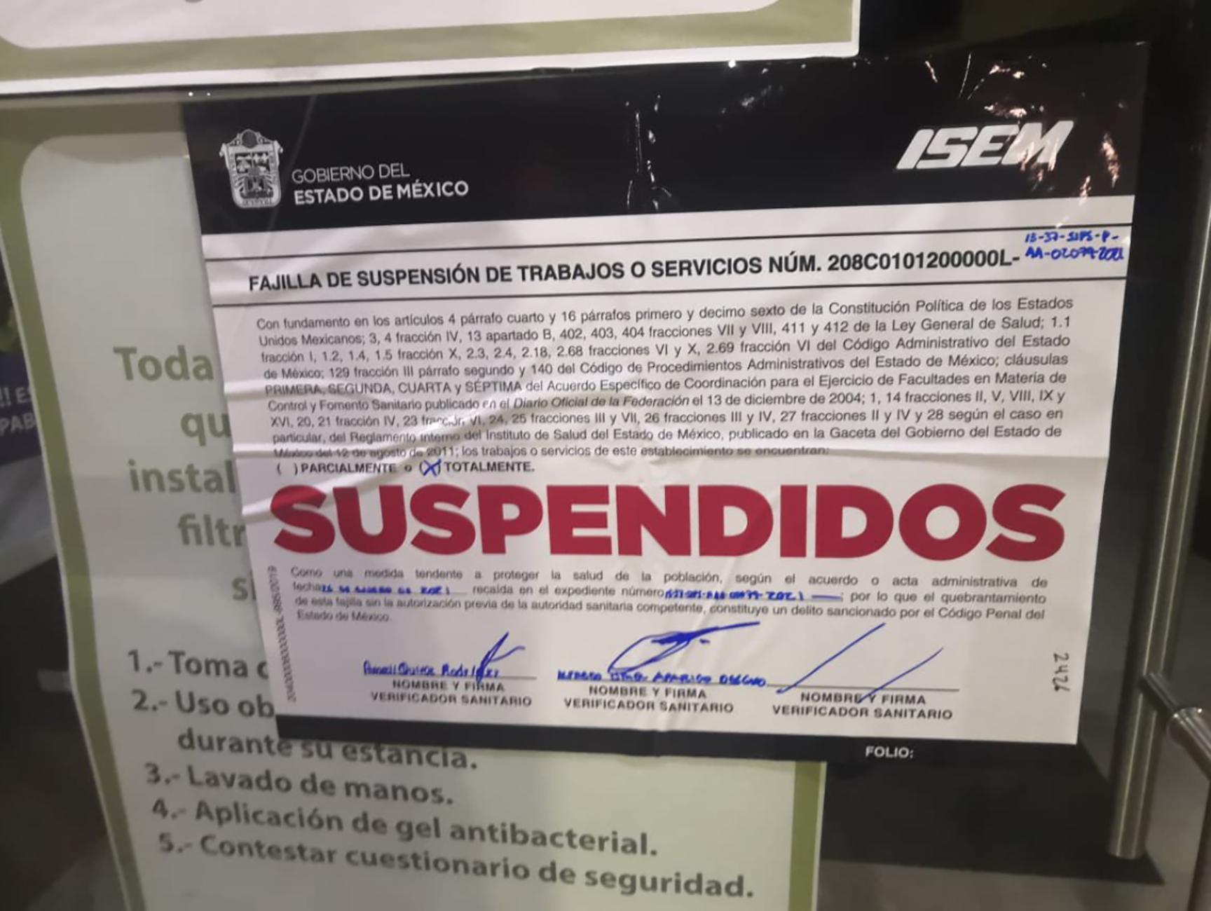 Laura Zapata suspension