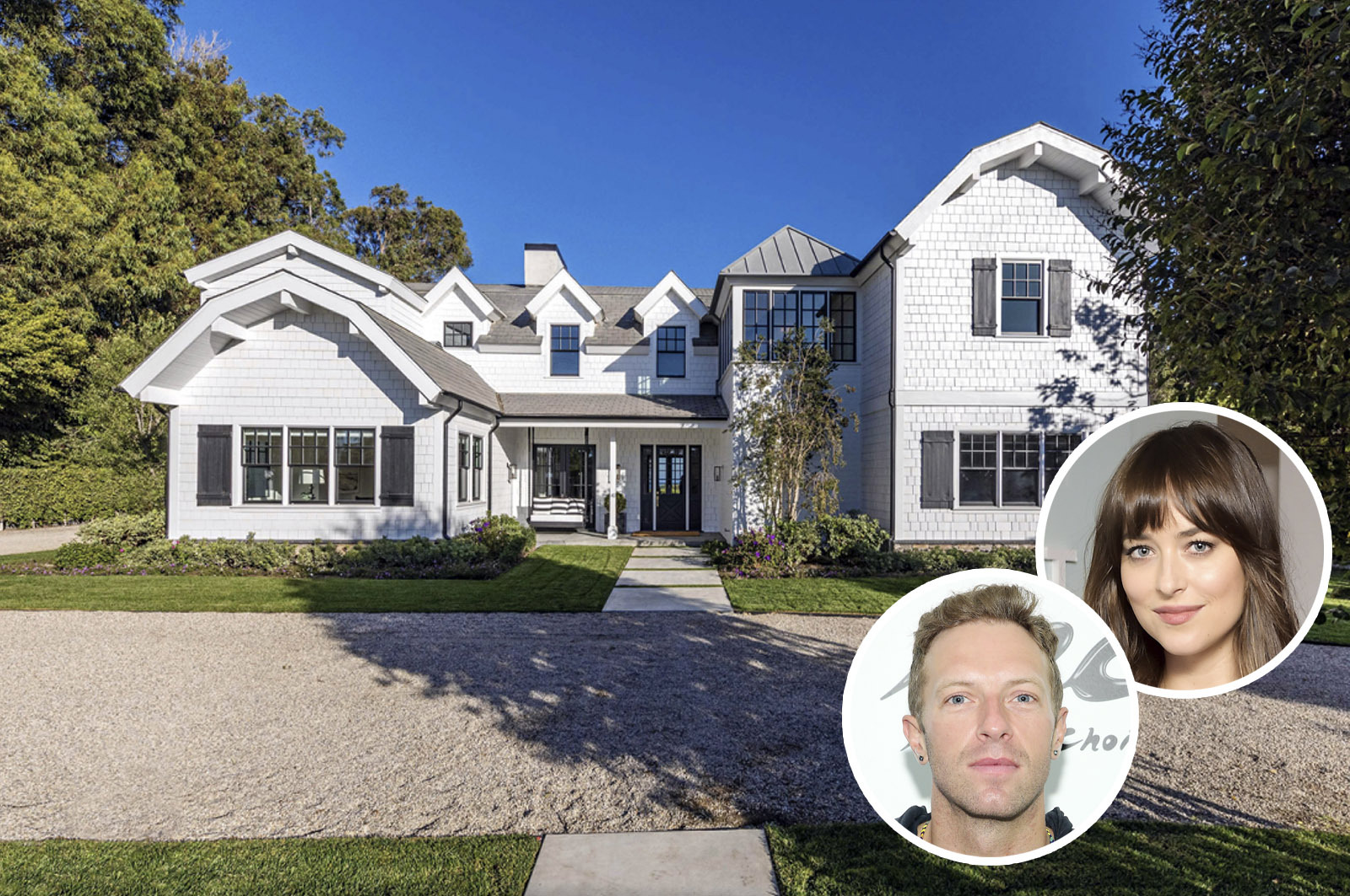 Dakota Johnson and Chris Martin's New Home