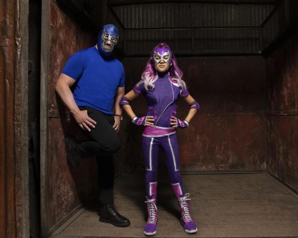 Disney Channel, Ultra Violet & Blue Demon, BLUE DEMON JR., SCARLETT ESTEVEZ