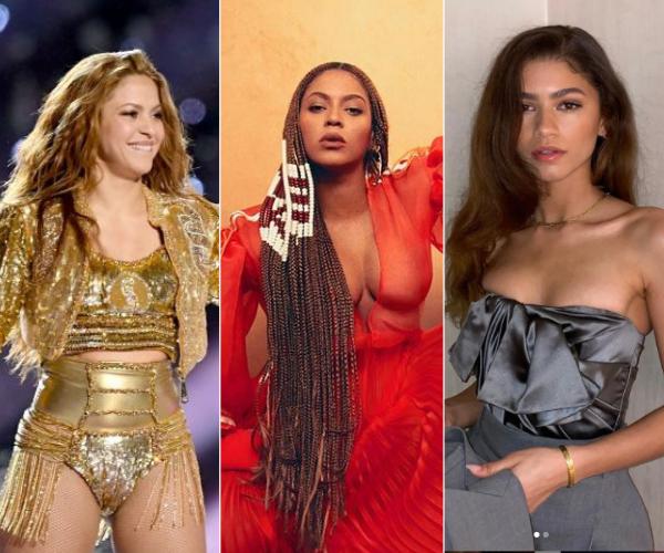 Celebridades Kim Kimble Shakira Beyonce Zendaya