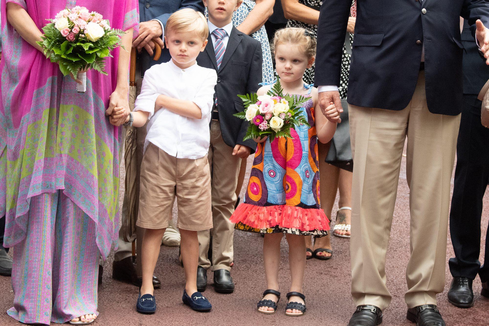 principe Jacques Honoré Rainier princesa Gabriella Therese Marie de MOnaco