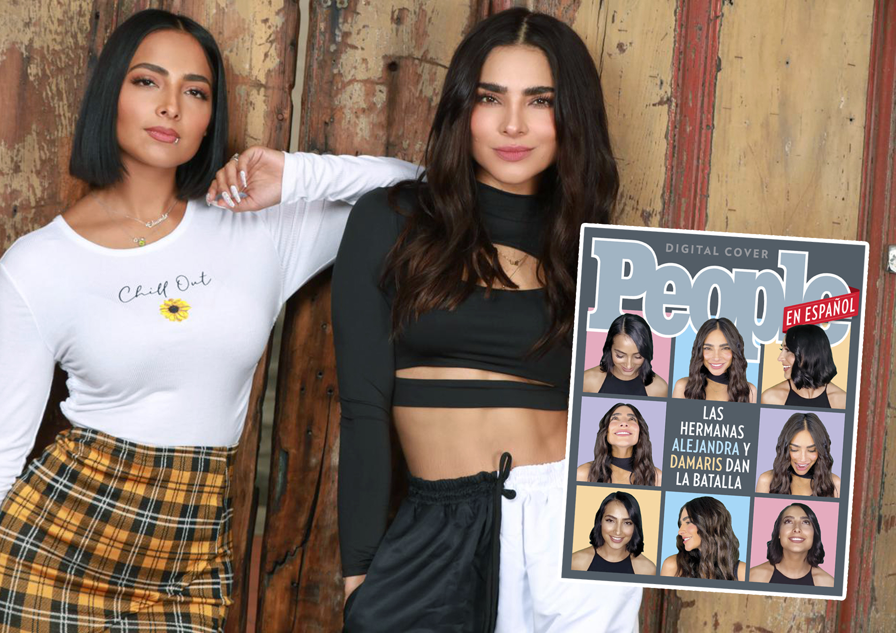 Alejandra Espinoza y Damaris Jimenez Digital Cover