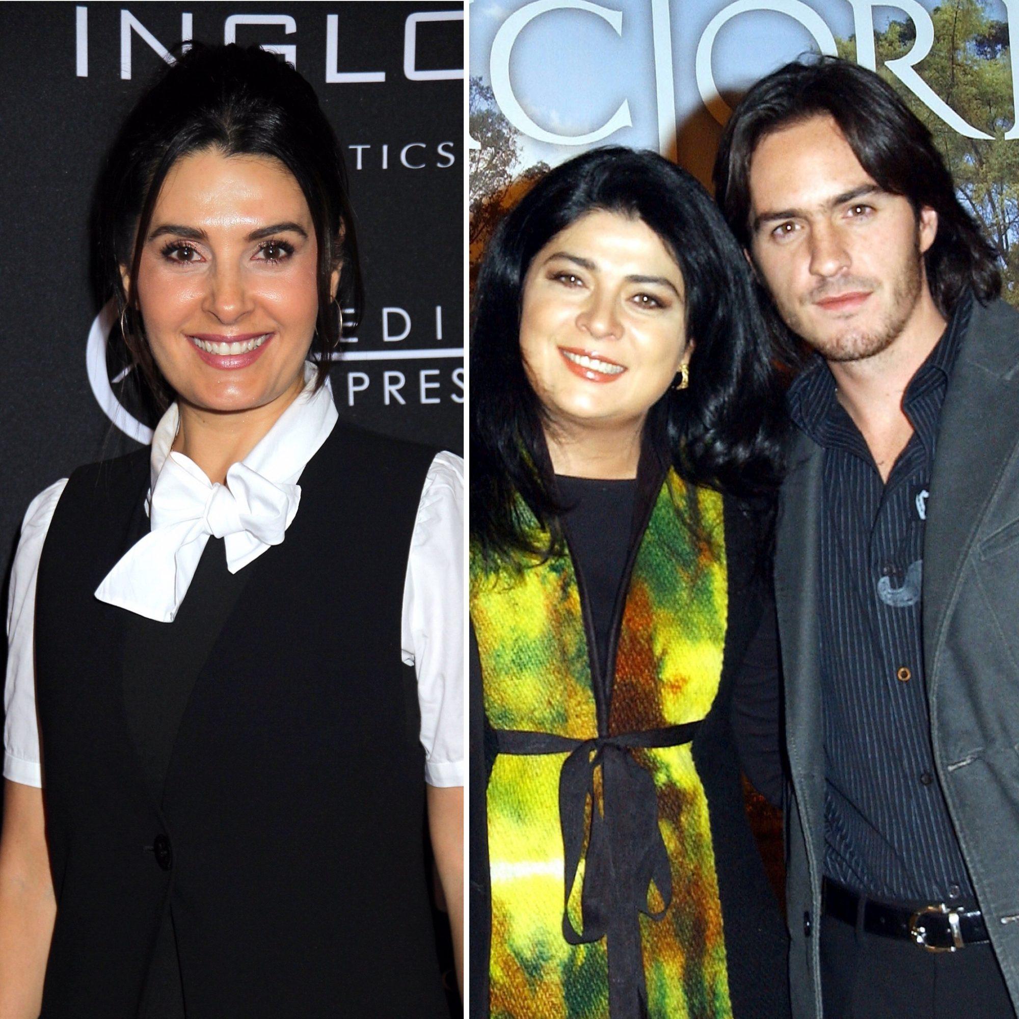 Mayrín Villanueva, Victoria Ruffo y Mauricio Ochmann
