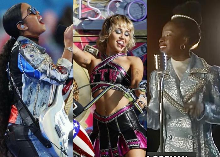 HER, Miley Cyrus, Amanda Gorman en Super Bowl LV