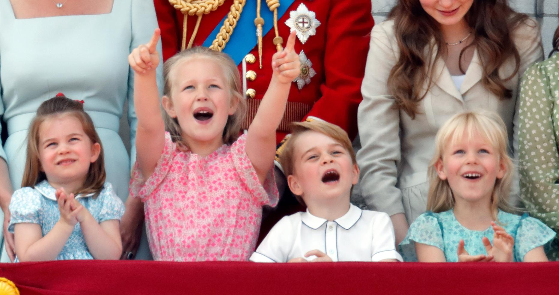 Bisnietos de la reina Isabel II