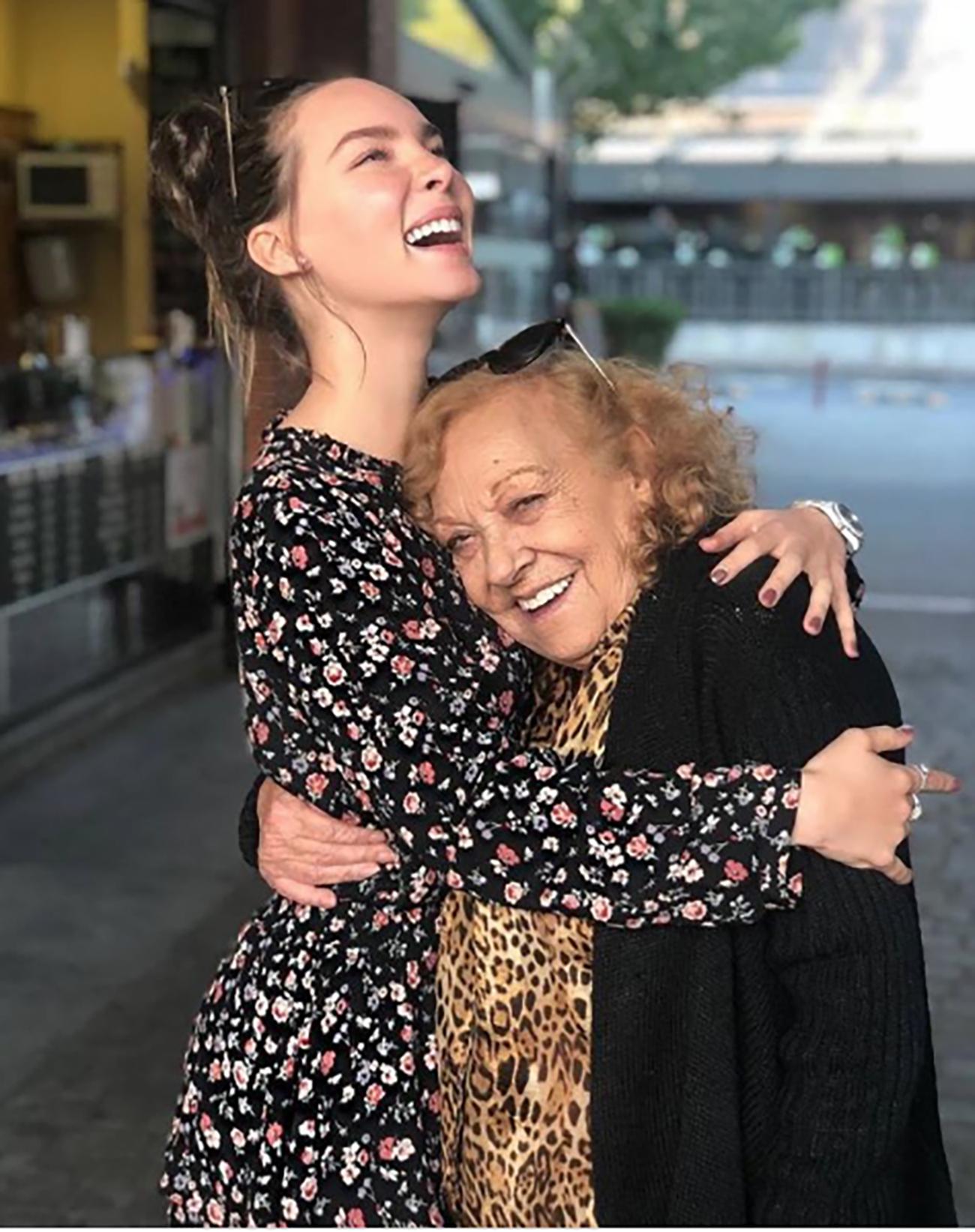 Belinda y abuela