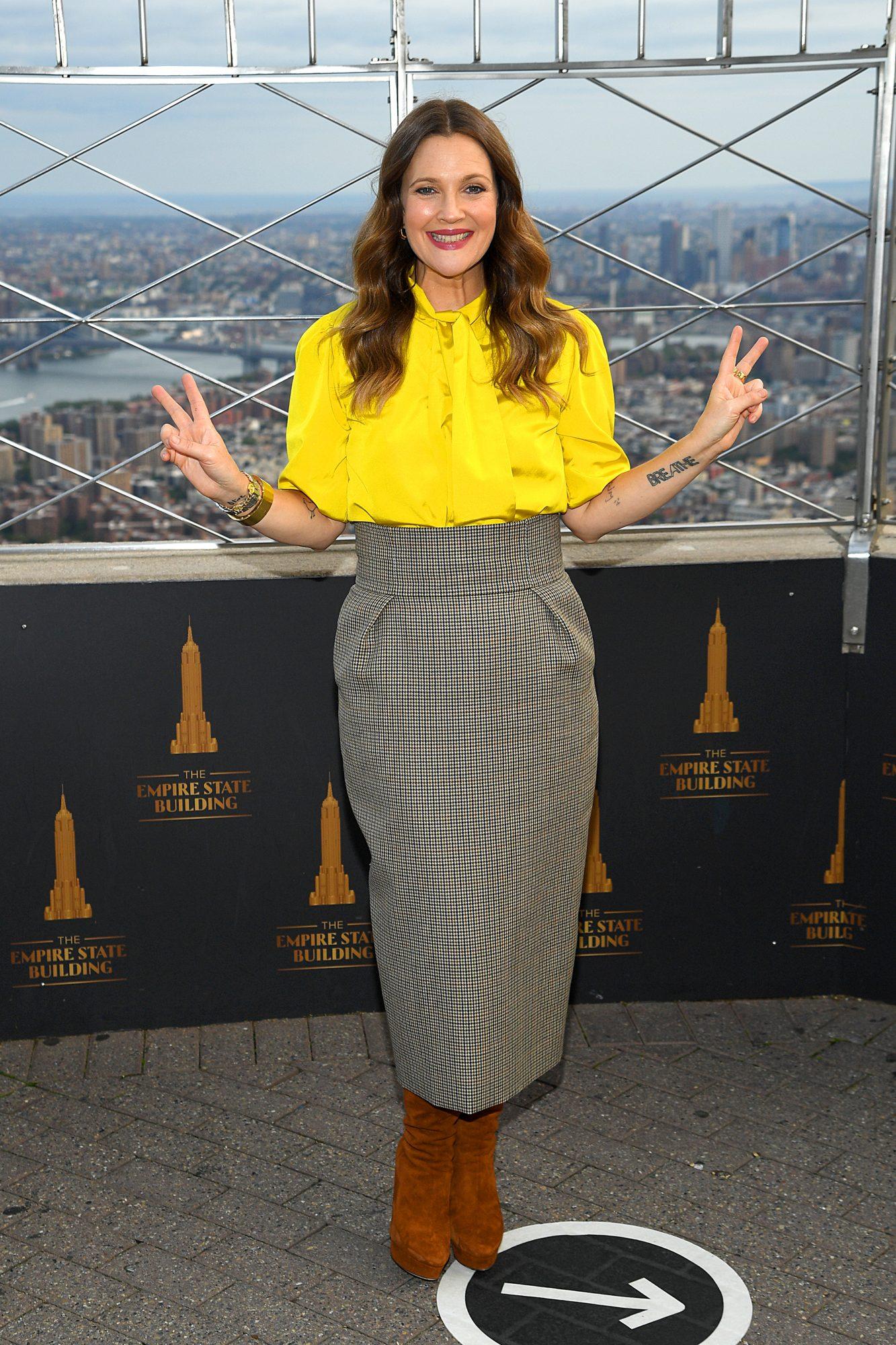 Drew Barrymore, imagen de garnier
